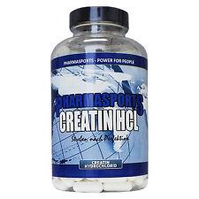 Creatin HCL 240 Kapseln Pures Kreatin Hydrochlorid 70x Stärker w Creatin Mono