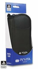 Sony PlayStation PS Vita Officially Licensed 4Gamers Travel CASE/COVER Black NEW