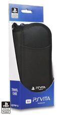 Sony Playstation PS Vita Officially Licensed 4 Gamers Viaggi Custodia/Coperchio Nero Nuovo