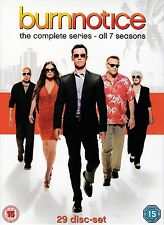 Burn Notice Complete Series Seasons 1-7+The Fall of Sam Axe DVD box set Region 4