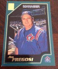 JIM FREGOSI 2000 TOPPS Autographed Signed AUTO Baseball Card 345 BLUE JAYS MANAG