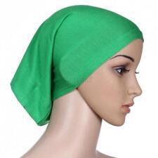 Muslim Women Under Scarf Soft Cotton Hats Cap Bone Bonnet Neck Cover Hijab Hat