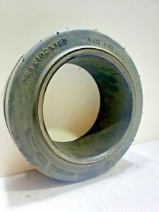 Monarch 10x4x6-1/2 tire Super Solid forklift press-on smooth Forklift tire