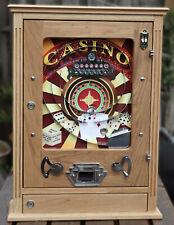CASINO  ALLWIN VINTAGE RETRO PENNY ARCADE CHOCOLATE FLICKER AMUSEMENT MACHINE