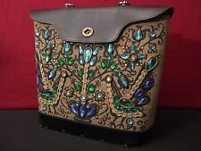 Enid Collins Jeweled Pavan Vintage Head Turning Handbag Needs Minor Restoration