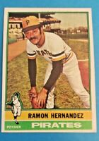 1976 Topps Baseball EX-MT to NM Ramon Hernandez Pittsburgh Pirates #647