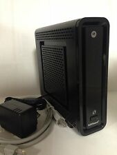 ARRIS - MOTOROLA SBG6580 Wifi  N Router  /  Modem DOCSIS 3.0  Time warner cable