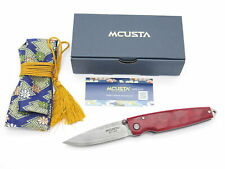 Mcusta Seki Japan Tsuchi MC-78D Staminawood VG-10 Damascus Folding Pocket Knife