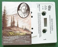 Beethoven Symphony No 5 Heinrich Zimmerman Cassette Tape - TESTED