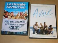 LOT 2 DVD / LA GRANDE SEDUCTION + AVRIL / MIOU MIOU / TRES BON ETAT