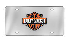 Harley-Davidson Decorative Vanity Front License Plate Bar & Sheild 3D Emblem