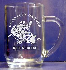 Personalised Engraved 1pt Glass Fishing Gift