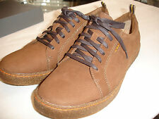 HUSH PUPPIES Oxfords Solid Brown Nubuck Shoes Mens Sz 12 M New in Box