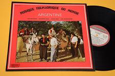 LP IL FOLK DAL MONDO ARGENTINA TOP NM MAI SUONATO ORIG FRANCIA '70