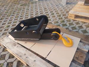 Schnellwechsler Platte MS08 Lasthaken Bagger Minibagger Holzzange
