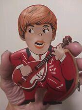 Beatles Paul Mccartney 1964 Zipper Coin Purse