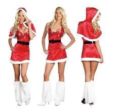 Christmas Velour Fancy Dress