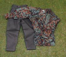 DRAGON 1/6 WW II Loose Blouse et pantalon de S/Set 1 (vert)