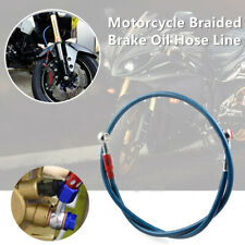Motorcycle Bikes Electric Vehicle Braided Brake Pipe Oil Hose Line Fittings 10mm