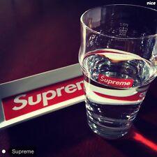 Supreme English Pint Glass 13SS Printed Logo 500ML