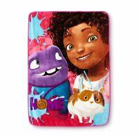 "DreamWorks Home, Home Away Micro Raschel Throw Blanket, 46 by 60"""