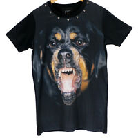 TOP MODEL - GIVENCHY - STARS - MEN'S T-shirt - BLACK - all size - ROTTWEILER