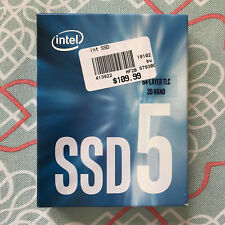 New Sealed Intel 545s 256GB 3D TLC NAND SATA III 6Gb/s M.2 2280 Internal SSD