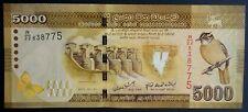 Sri Lanka 5000 Bank Note UNC Asian Paper Money - Ceylon - Free Shipping