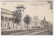 Gand Exhibition 1913 postcard - L;Avenue des Nations