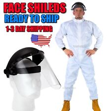 Face Sheild Helmet USA SELLER Anti Splash Welding SAFETY CLEAR Nurses Doctors