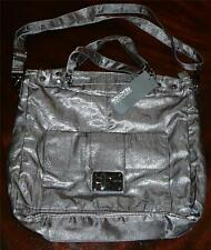 NWT Kenneth Cole Reaction Women Purse Bag Tote nylon Grey