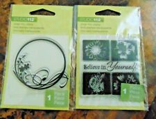 NEW Lot of 2 Clear Stamps Studio  112 Floral!!