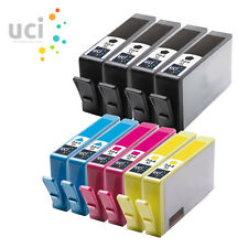 10x 364 XL Compatible CHIPPED Ink for Photosmart 5510 5515 5520 5524 6510 C6380
