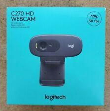 Logitech C270 HD Web Cam 720p Built in Mic