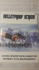 Bulletproof Screen supplement (GM Screen) New RPG