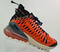 Nike Air Max 270 ISPA Blue Void/Black-Terra Orange BQ1918-400 Men's Shoes