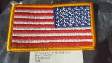 US ARMY Original Reversed Flag Klett Neu !