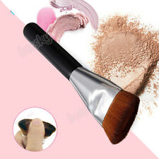 Pro Flat Contour Brush Face Cheeks Blend Makeup Cosmetic Brusher Tool G1