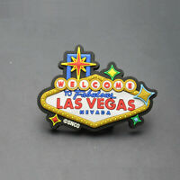 Las Vegas Nevada USA Souvenir Gift Funny 3D Rubber Fridge Magnet Cute