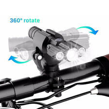Rechargeable Mountain Bike Lights battery Bicycle Torch Front & Rear Lamp Set