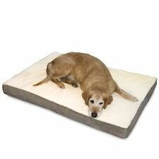 Happy Hounds Oscar Orthopedic Dog Bed, Large 36 by 48-Inch, Birch Pad Bedding
