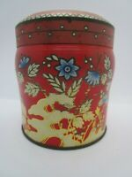 Vintage Charming Scribbans Kemp Chinoiserie Biscuit Tin Made In England c. 1950