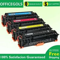 4PK Set Fits 305A CE410A Toner For HP Color LaserJet Pro 400 M475dn M475 M451nw