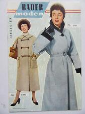 BADER Moden, Januar 1954, Din A5, 20 Seiten