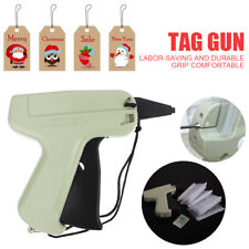 Clothes Garment Price Label Tagging Cardboard Tag Gun+ 5 Needles+ 1000X 3