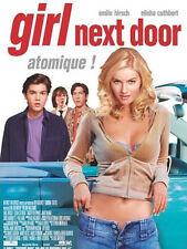 Affiche 40x60cm THE GIRL NEXT DOOR 2004 Luke Greenfield - Emile Hirsch TBE