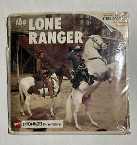 View-Master THE LONE RANGER B465 - 3 Reel Set + Booklet (1)