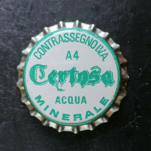 Certosa Vibo tappo acqua minerale water bottle crown cap chapa agua Kronkorken