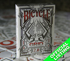 Grid 2.0 (Limited Red Edition) Bicycle Playing Cards