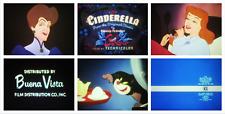 "Super 8 Sound Feature Film: WALT DISNEY ""Cinderella"" (1950) LPP - Gorgeous Print"
